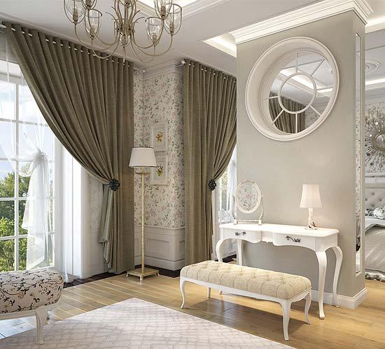 Дизайн проект коттеджа в классическом стиле, расположенного в городе Москва