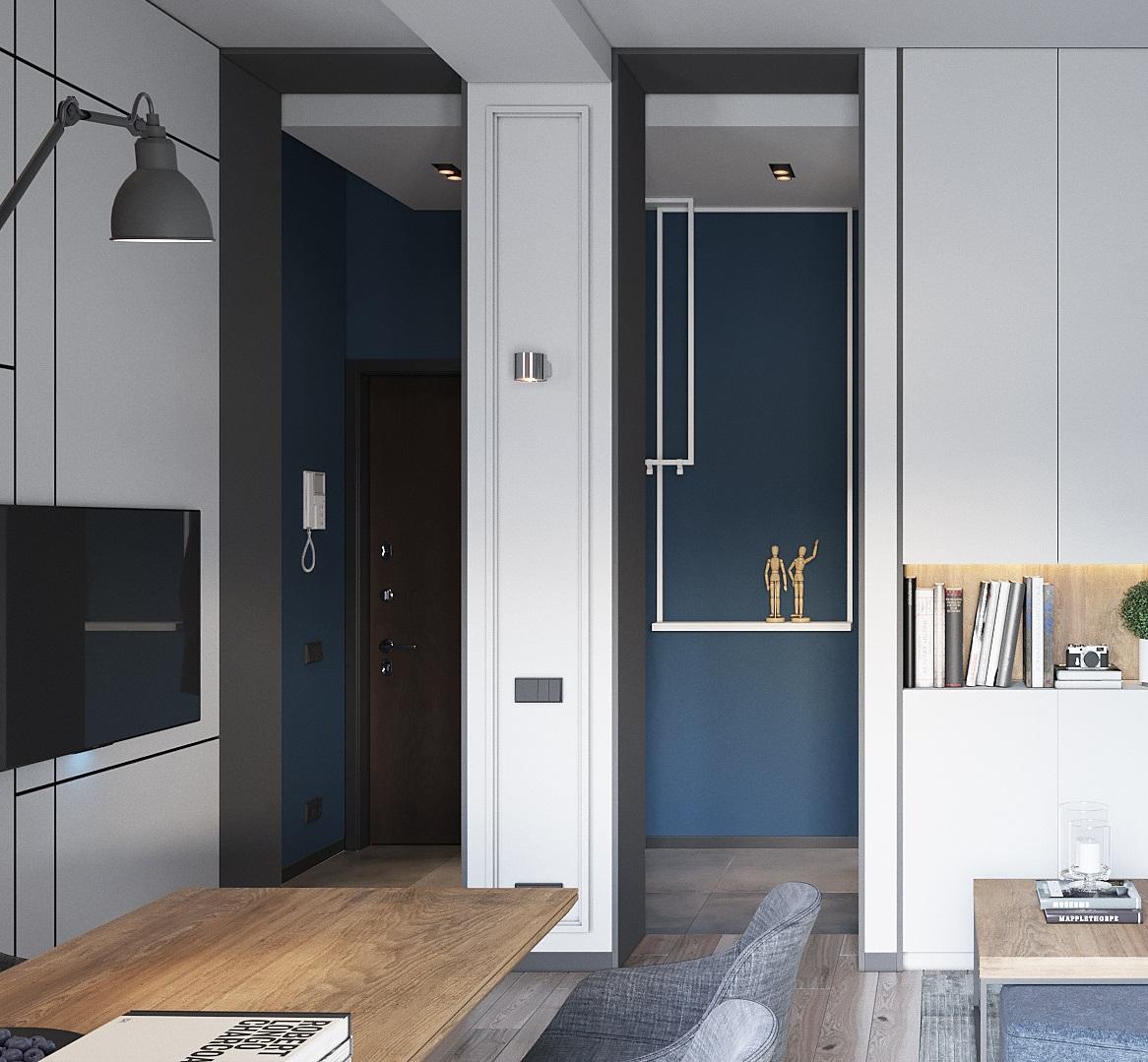 дизайн интерьера квартиры партизанский